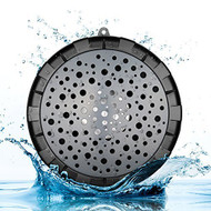 IPX6 Waterproof Portable Bluetooth Wireless Speaker - Black Grey