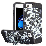 Military Grade Certified Storm Tank Hybrid Armor Case with Stand for iPhone 8 / 7 / 6S / 6 - Camouflage