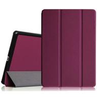 Premium Smart Leather Hybrid Case for iPad Mini 4 - Purple