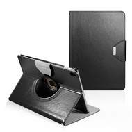 360 Degree Book-Style Smart Rotating Leather Case for iPad Pro 10.5 inch - Black