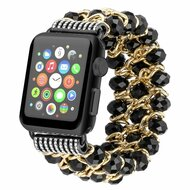 *Sale* Glamorous Chic Style Bracelet Faux Crystal Watch Band for Apple Watch 44mm / 42mm - Black