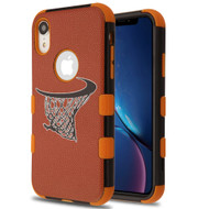 Military Grade Certified TUFF Hybrid Armor Case for iPhone XR - Hoop