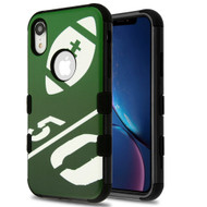 Military Grade Certified TUFF Hybrid Armor Case for iPhone XR - Kickoff