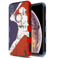 Military Grade Certified TUFF Hybrid Armor Case for iPhone XS Max - Home Run