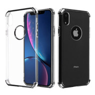 Klarion Crystal Clear Tough Case for iPhone XR - Black