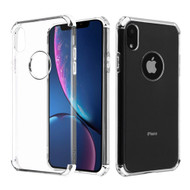 Klarion Crystal Clear Tough Case for iPhone XR - Silver