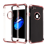 Klarion Crystal Clear Tough Case for iPhone 8 / 7 - Rose Gold