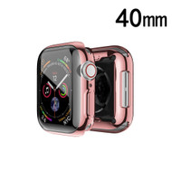 Electroplating Bumper Case for Apple Watch 40mm Series 4 - Rose Gold