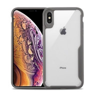 Vista Ultra Hybrid Shock Absorbent Crystal Case for iPhone XS Max - Grey