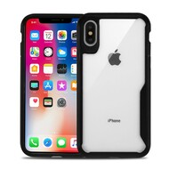 Vista Ultra Hybrid Shock Absorbent Crystal Case for iPhone XS / X - Black