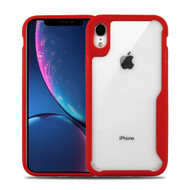Vista Ultra Hybrid Shock Absorbent Crystal Case for iPhone XR - Red