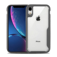 Vista Ultra Hybrid Shock Absorbent Crystal Case for iPhone XR - Grey