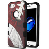 Military Grade Certified TUFF Hybrid Armor Case for iPhone 8 / 7 - Football