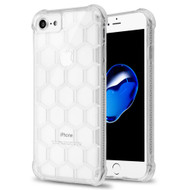 Honeycomb Tough Snap-on Crystal Case for iPhone 8 / 7 / 6S / 6 - Clear
