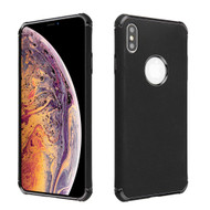 Klarion Frosted Color Tough Case for iPhone XS Max - Black