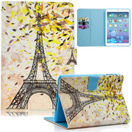 Diary Leather Wallet Smart Case for iPad Mini 1 / 2 / 3 - Eiffel Tower