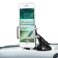 *SALE* Universal Smartphone Car Holder Cradle with Windshield, Dashboard and Air Vent Mount - Black
