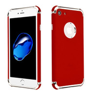Klarion Frosted Color Tough Case for iPhone 8 / 7 - Red
