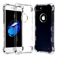TUFF Klarity Lux Electroplating Transparent Anti-Shock TPU Case for iPhone 8 / 7 / 6S / 6 - Silver