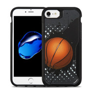 Vista Ultra Hybrid Shock Absorbent Fusion Case for iPhone 8 / 7 - Slam Dunk