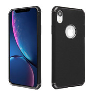 Klarion Frosted Color Tough Case for iPhone XR - Black
