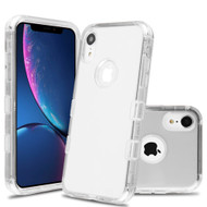 Military Grade Certified TUFF Lucid Transparent Hybrid Armor Case for iPhone XR - Clear