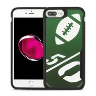 Vista Ultra Hybrid Shock Absorbent Fusion Case for iPhone 8 Plus / 7 Plus - Kickoff