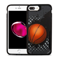 Vista Ultra Hybrid Shock Absorbent Fusion Case for iPhone 8 Plus / 7 Plus - Slam Dunk