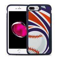 Vista Ultra Hybrid Shock Absorbent Fusion Case for iPhone 8 Plus / 7 Plus - Home Run