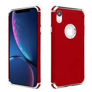 Klarion Frosted Color Tough Case for iPhone XR - Red