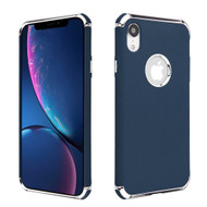 Klarion Frosted Color Tough Case for iPhone XR - Navy Blue
