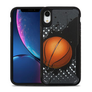 Vista Ultra Hybrid Shock Absorbent Fusion Case for iPhone XR - Slam Dunk