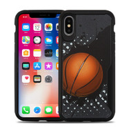 Vista Ultra Hybrid Shock Absorbent Fusion Case for iPhone XS / X - Slam Dunk