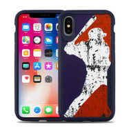 Vista Ultra Hybrid Shock Absorbent Fusion Case for iPhone XS / X - Batter Up