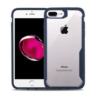 Vista Ultra Hybrid Shock Absorbent Crystal Case for iPhone 8 Plus / 7 Plus - Blue