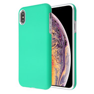 Fuse Slim Armor Hybrid Case for iPhone XS Max - Teal Green