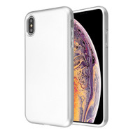 Fuse Slim Armor Hybrid Case for iPhone XS Max - Silver