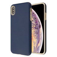 Fuse Slim Armor Hybrid Case for iPhone XS Max - Navy Blue