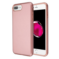 Fuse Slim Armor Hybrid Case for iPhone 8 Plus / 7 Plus / 6S Plus / 6 Plus - Rose Gold