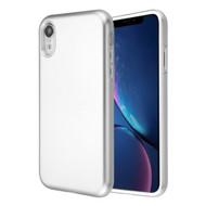 Fuse Slim Armor Hybrid Case for iPhone XR - Silver