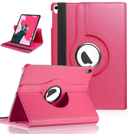 360 Degree Smart Rotating Leather Case for iPad Pro 12.9 inch (3rd Generation) - Hot Pink