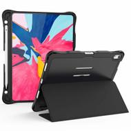 *Sale* Shockproof Smart Hybrid Case with Apple Pencil Holder for iPad Pro 11 inch - Black