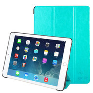 Premium Smart Leather Hybrid Case with Auto Sleep / Wake for iPad Pro 9.7 inch - Baby Blue