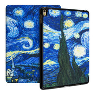 Premium Smart Leather Hybrid Case with Auto Sleep / Wake for iPad Pro 9.7 inch - Starry Night