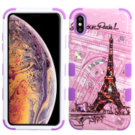 Military Grade Certified TUFF Hybrid Armor Case for iPhone XS Max - Bonjour Paris
