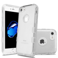 Military Grade Certified TUFF Lucid Transparent Hybrid Armor Case for iPhone 8 / 7 - Clear