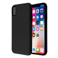 Fuse Slim Armor Hybrid Case for iPhone XS / X - Black