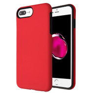 Fuse Slim Armor Hybrid Case for iPhone 8 Plus / 7 Plus / 6S Plus / 6 Plus - Red
