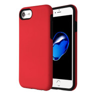 Fuse Slim Armor Hybrid Case for iPhone 8 / 7 / 6S / 6 - Red