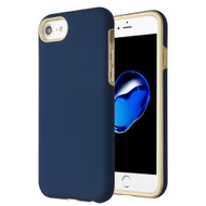 Fuse Slim Armor Hybrid Case for iPhone 8 / 7 / 6S / 6 - Navy